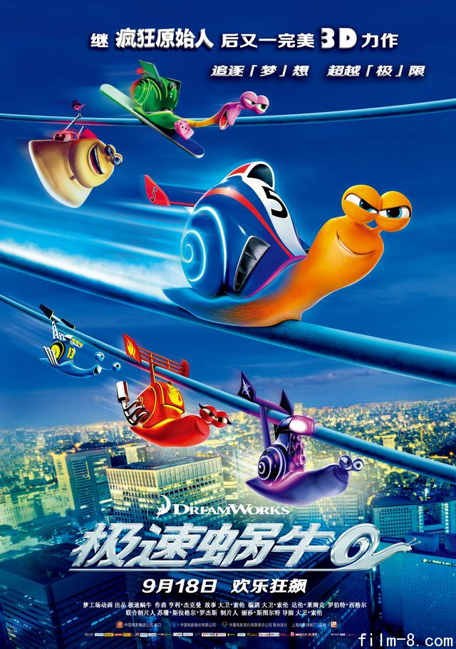 极速蜗牛海报